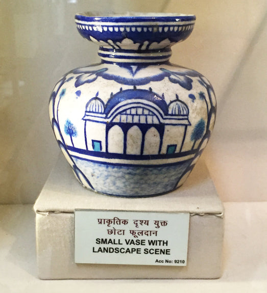 SMALL VASE WITH LANDSCAPE SCENE