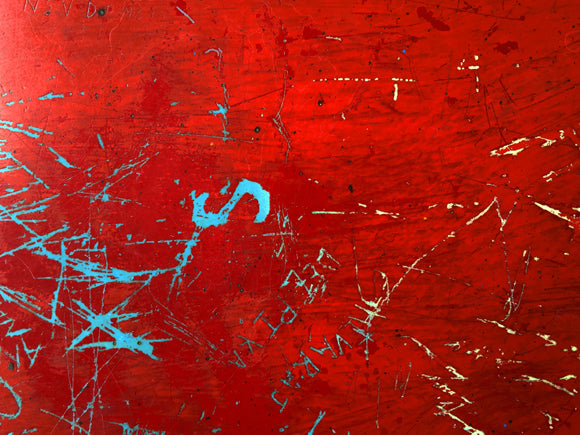 red graffiti