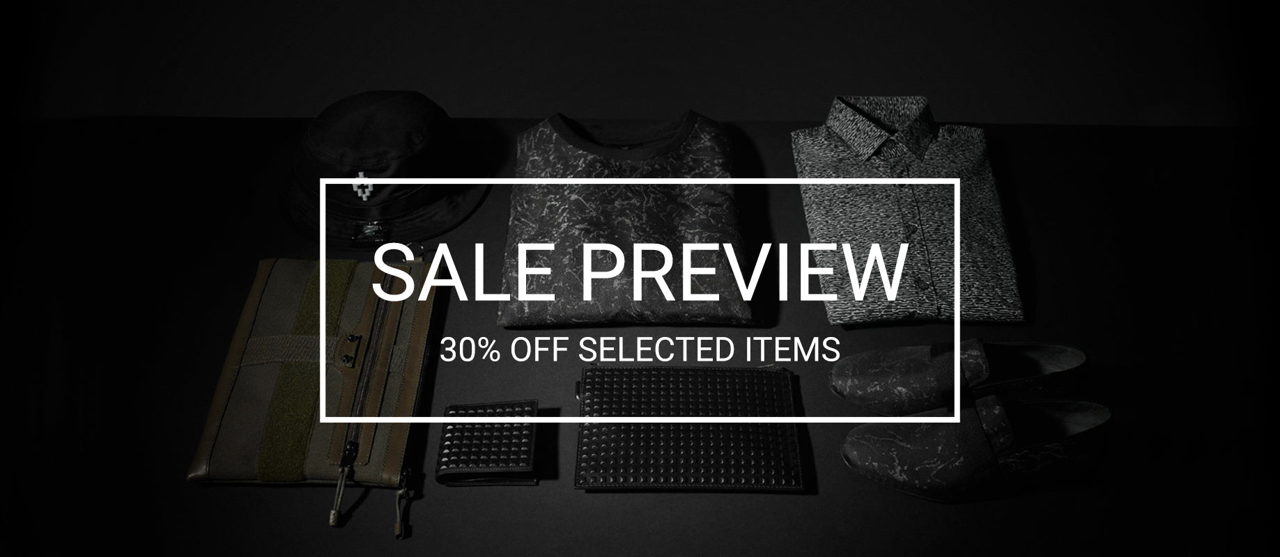 Sale Preview - 30% off selected items
