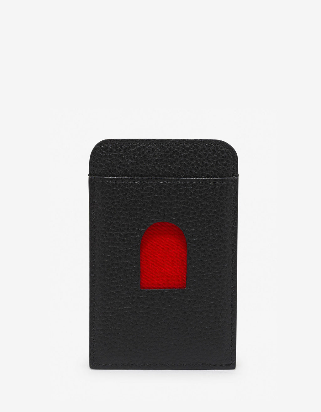 Loubislide Sneakers Sole Black Card Holder