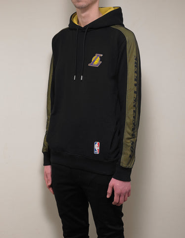 Marcelo Burlon LA Lakers Mesh Panel Hoodie