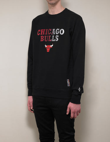 Marcelo Burlon Black Chicago Bulls Sweatshirt
