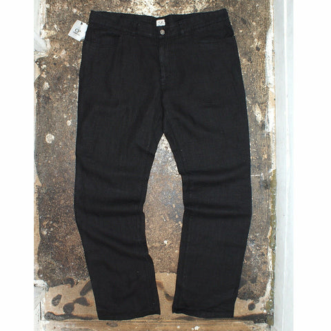 Black Soft Tracksuit Pants