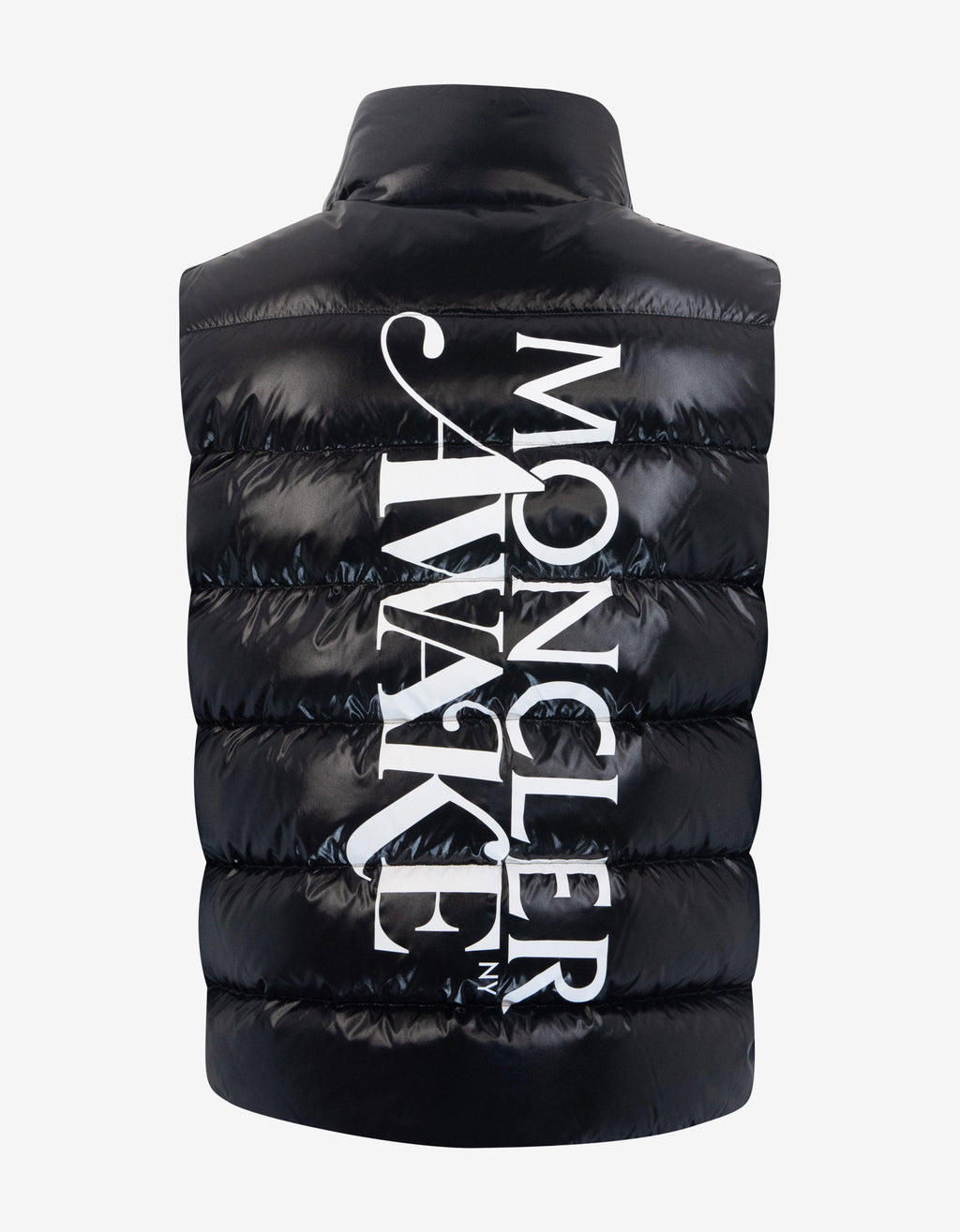 Parker Awake Black Nylon Down Gilet