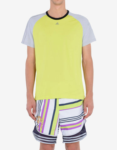Adidas x Kolor Bright Yellow Climachill T-Shirt