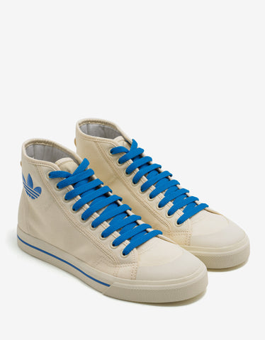 Adidas x Raf Simons Matrix Spirit Mist Sun High Top Trainers