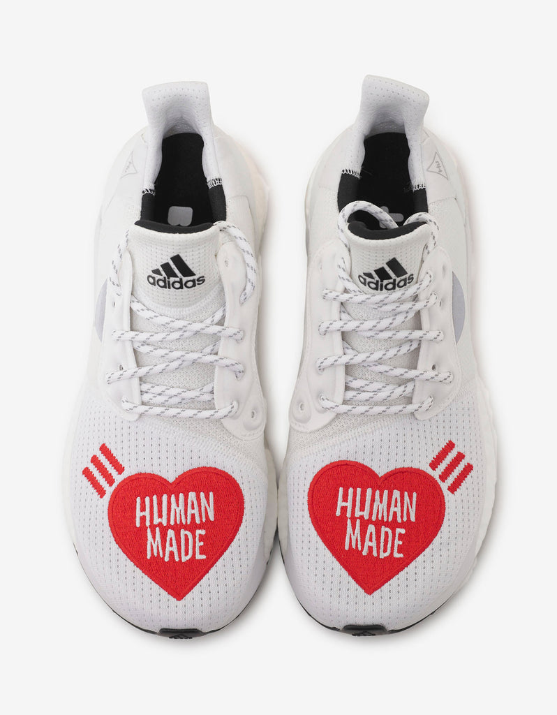 Solar Hu x Human Made White Trainers