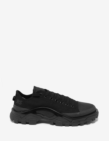Adidas x Raf Simons Detroit Runner All-Black Trainers