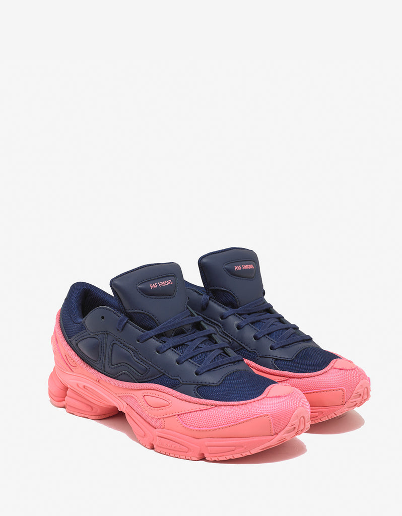 uk availability 8559f bf3f1 Ozweego Navy Blue   Pink Trainers ...