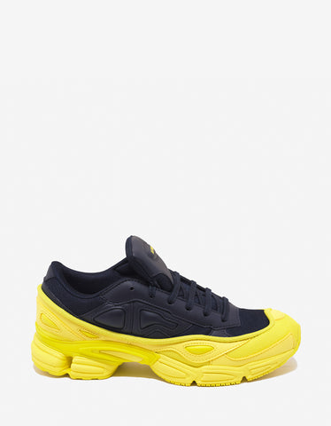 Adidas x Raf Simons Ozweego Navy Blue & Yellow Trainers