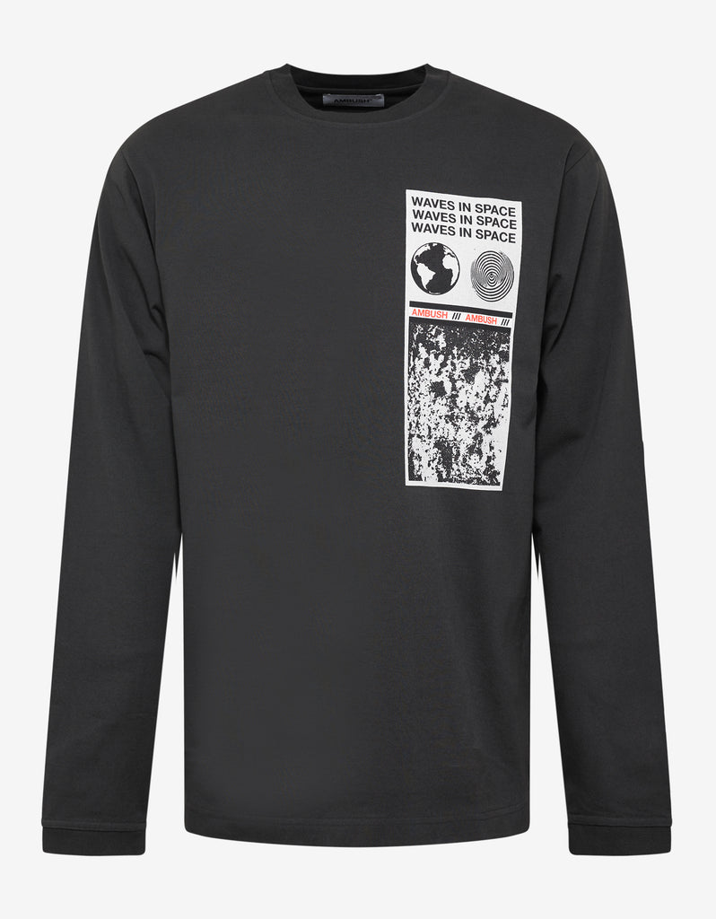 Black Visitor Long Sleeve T-Shirt