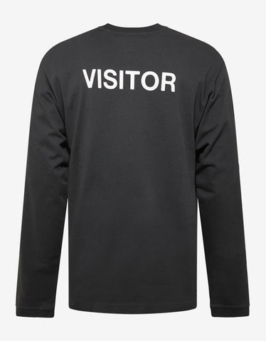 Ambush Black Visitor Long Sleeve T-Shirt