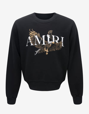 Black Amiri Eagle Sweatshirt