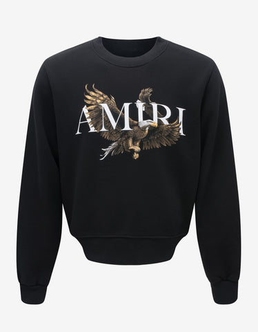 Navy Blue Eagle Logo Sweatshirt