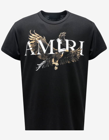 Black Mural Jungle Print T-Shirt