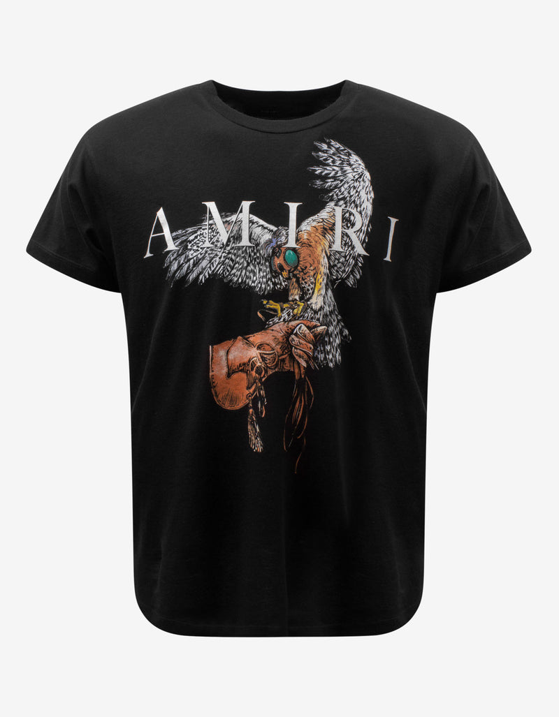Black Falcon Amiri T-Shirt