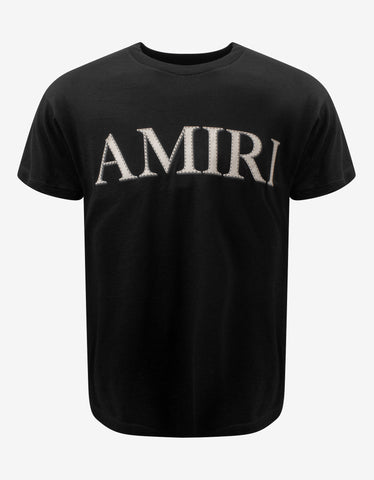 Black Amiri Snake T-Shirt