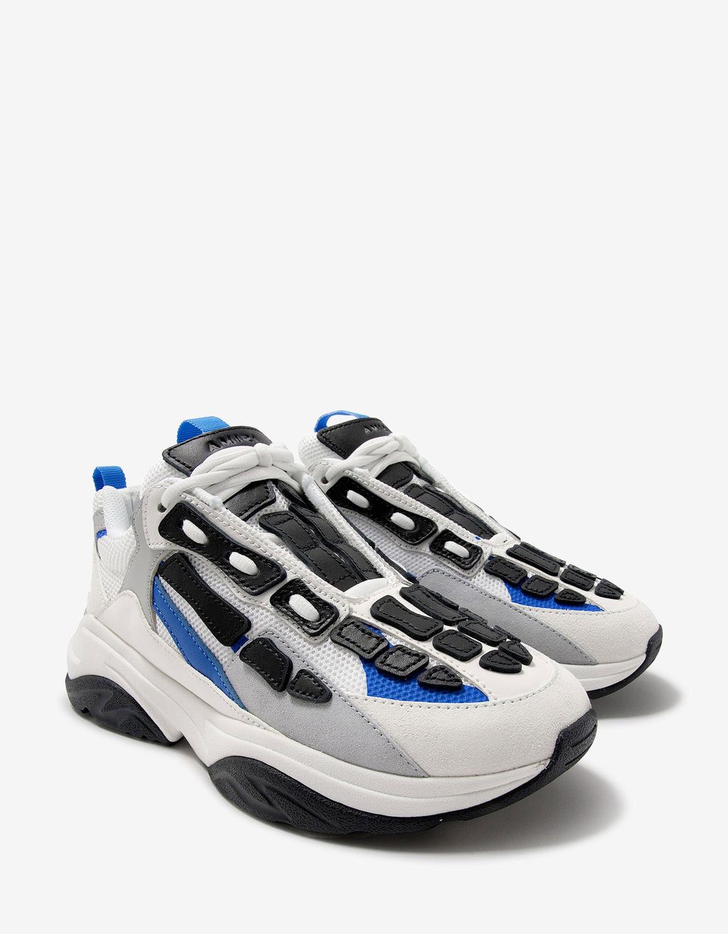 Bone Runner Blue & White Trainers
