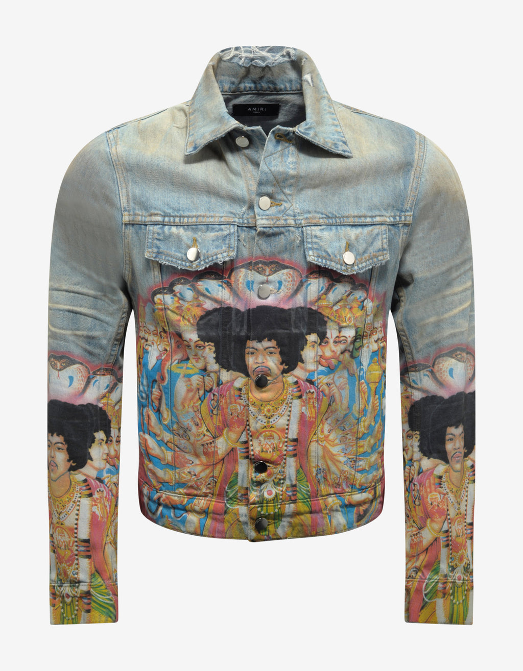 Jimi Hendrix Trucker Denim Jacket