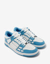 Skel Top Low Blue & White Trainers