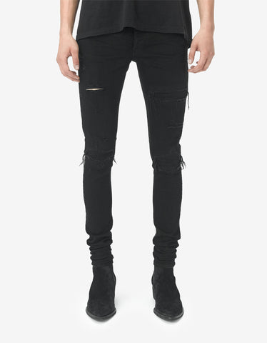 Iggy Skinny 'Raw Stretch' Denim Jeans