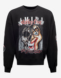 Black Mötley Crüe Dr Feelgood Oversized Sweatshirt