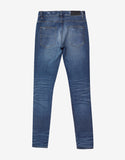 MX1 Patch Med Indigo Distressed Skinny Jeans