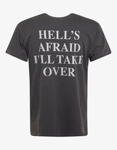 Grey Heaven And Hell T-Shirt