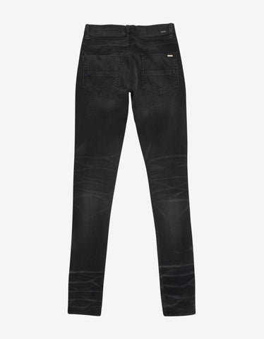 Amiri MX1 Vintage Tee Animation Aged Black Jeans