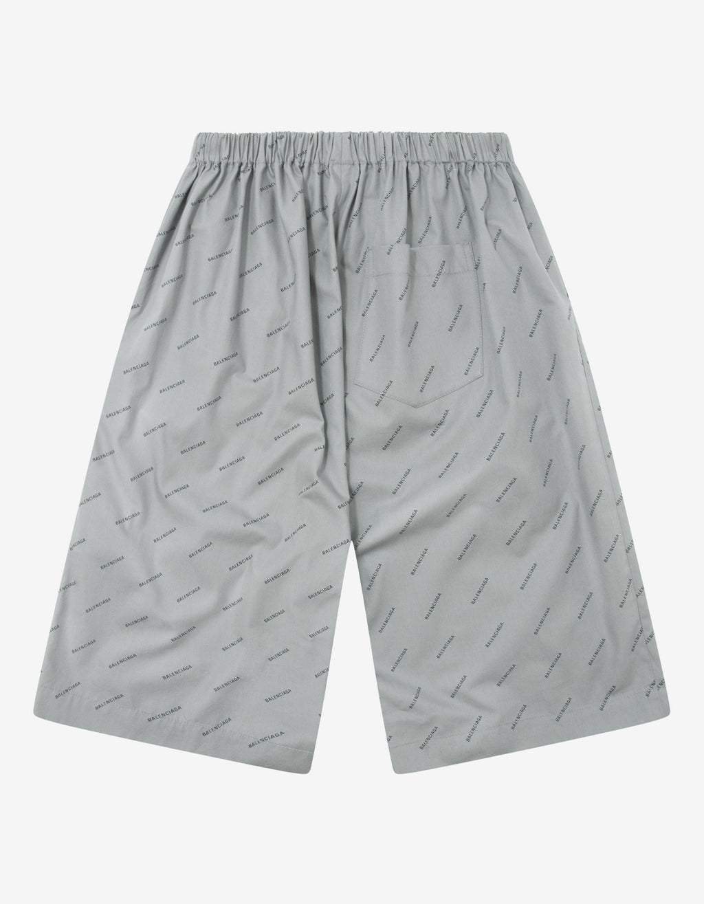 Grey All-Over Logo Shorts