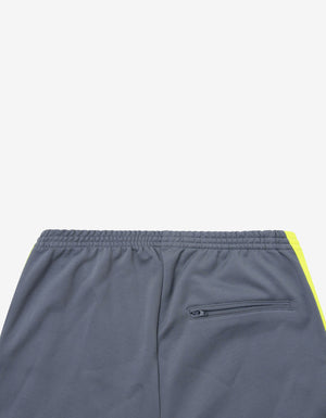 Grey Track Pants with Yellow Stripes