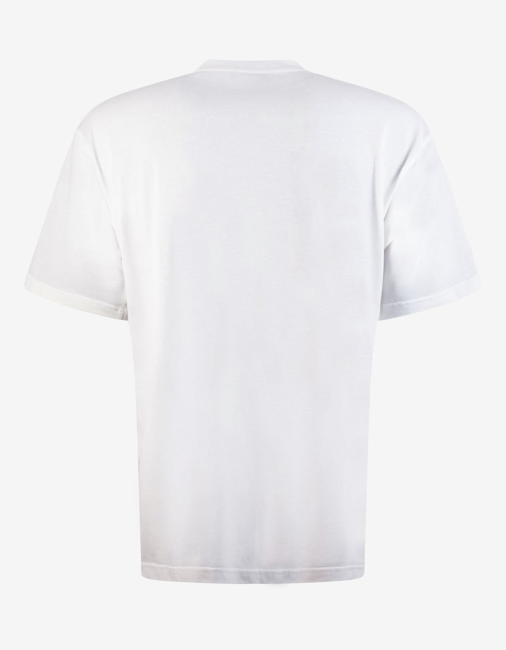 White Uniform Large Fit T-Shirt