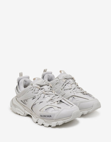 Balenciaga All-White Track Trainers