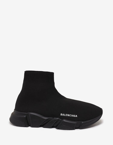 Balenciaga All-Black Speed Trainers