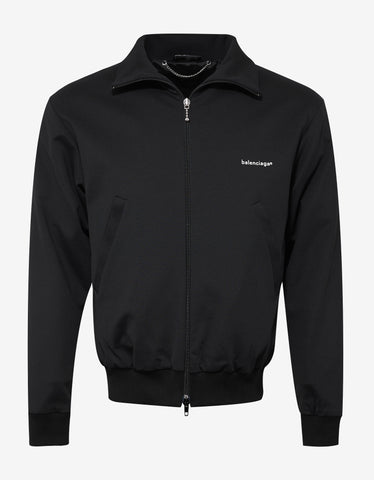Balenciaga Black Copyright Logo Jacket