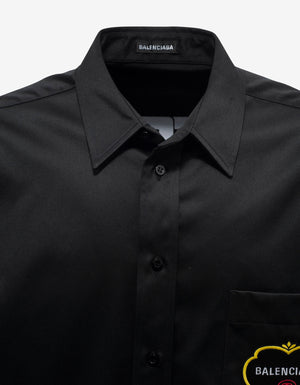 Black Double Sleeve Shirt