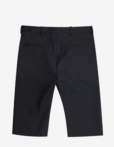 Balenciaga Black Smart Shorts