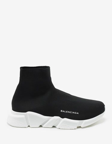 Balenciaga Black Speed Trainers