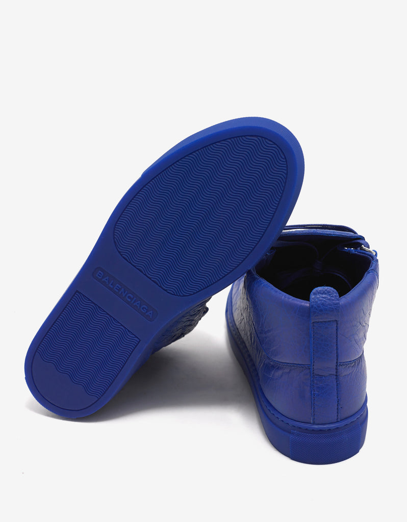 Bleu Electrique Arena Opaque High Top Trainers