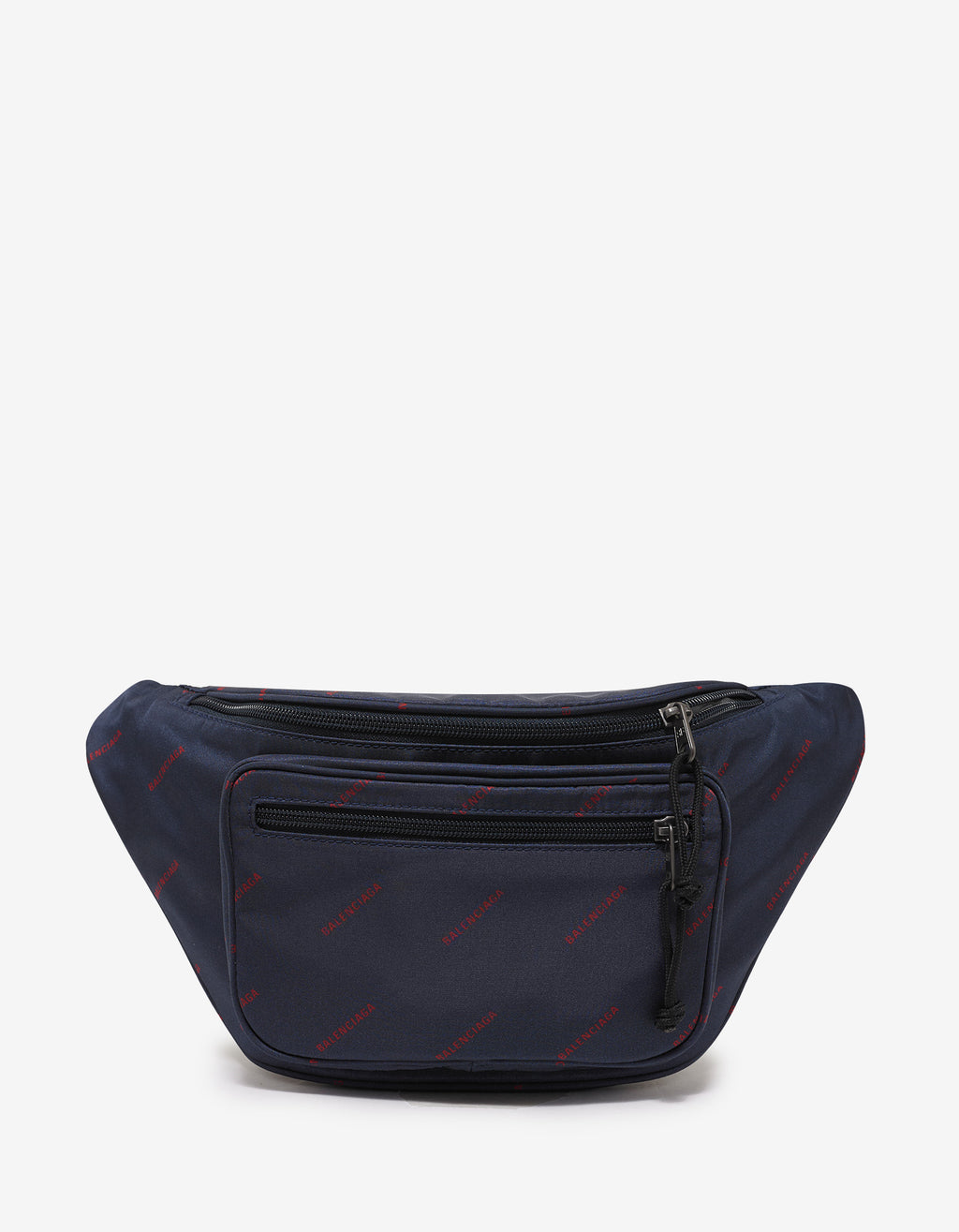 Blue All-Over Logo Waist Bag
