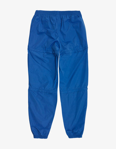 Balenciaga Blue Zipped Track Pants