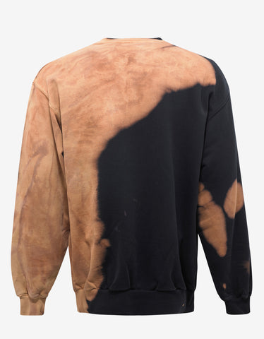 Balenciaga Brown Homme Logo Oversized Sweatshirt