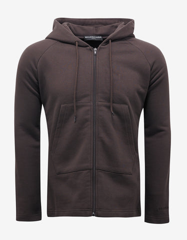 Kappa Red Funnel Neck Zip Sweatshirt