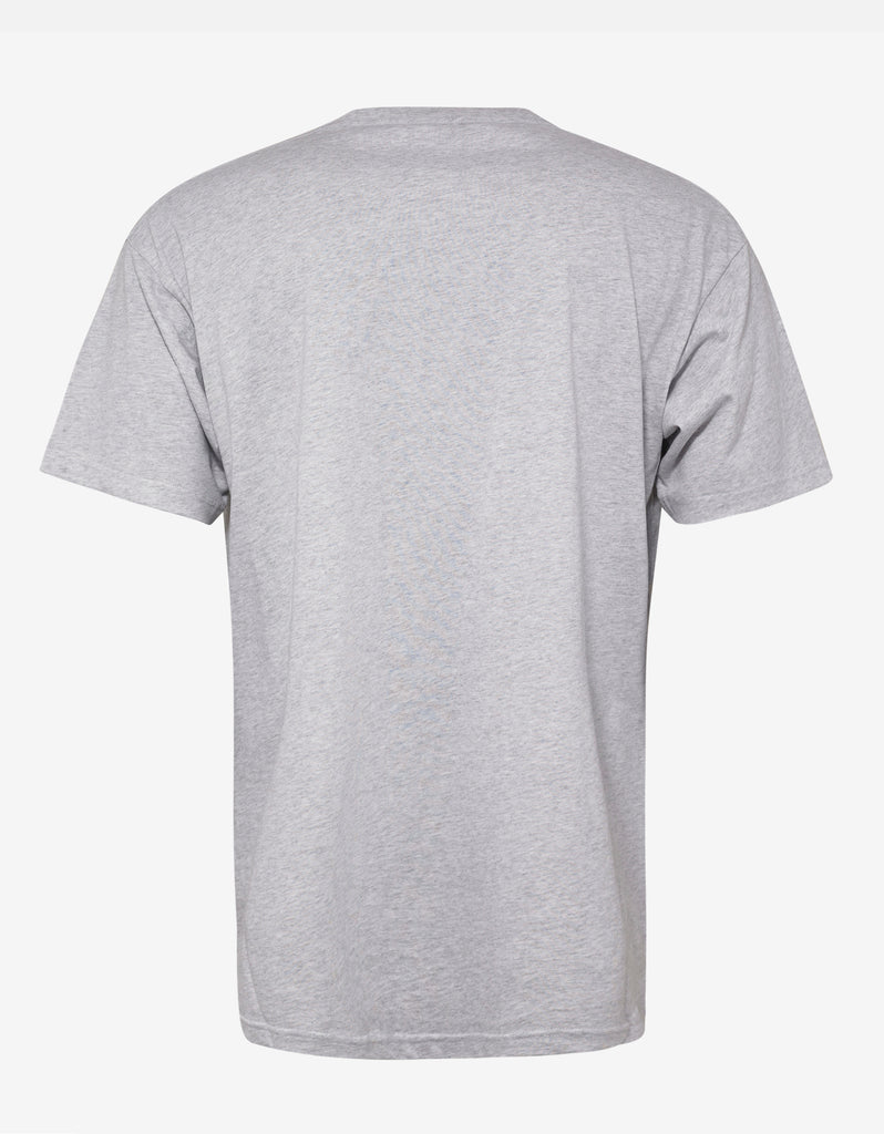 Balenciaga Grey Copyright Logo Oversized T Shirt