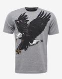 Grey Eagle Print T-Shirt