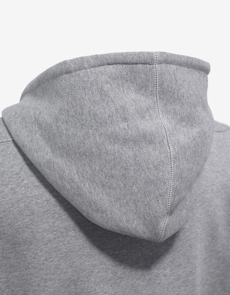 Grey Logo Hem Hooded Tracksuit