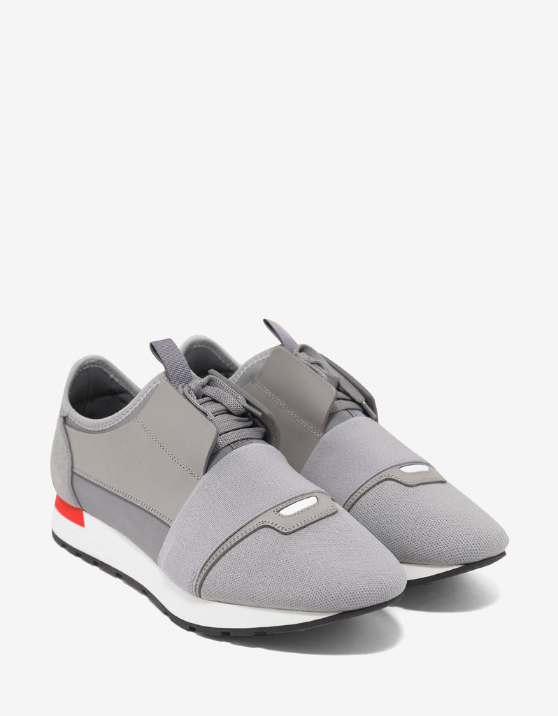 Grey Panelled Race Runners