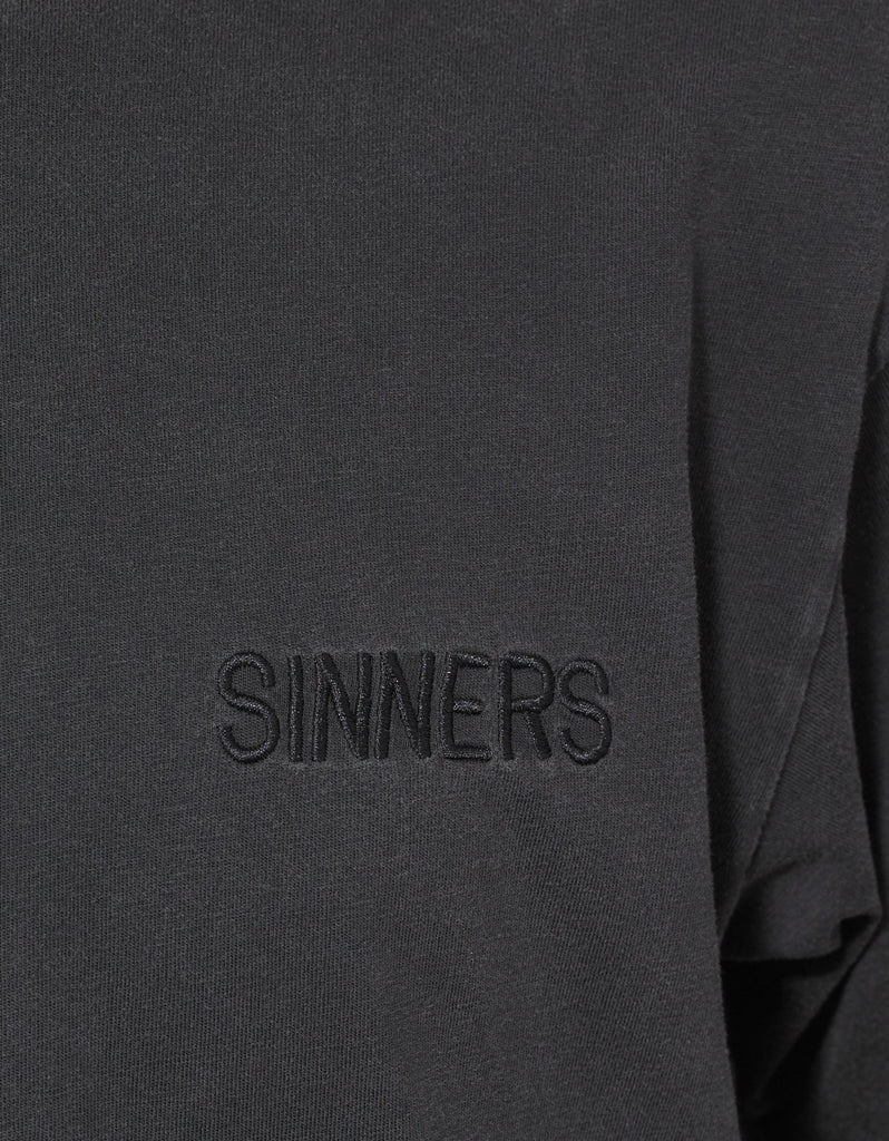 Grey Sinners Oversized T-Shirt