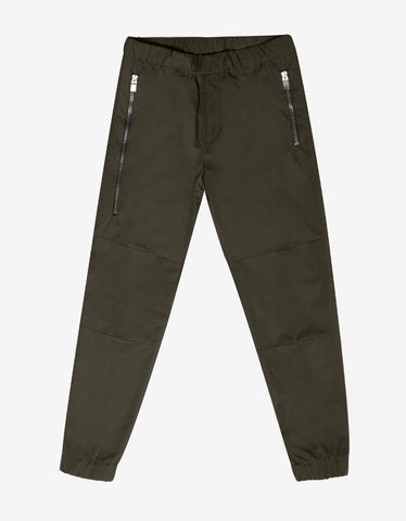 Balenciaga Khaki Military Trousers