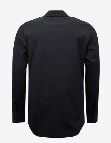 Balenciaga Shrunk Uniforme Black Shirt